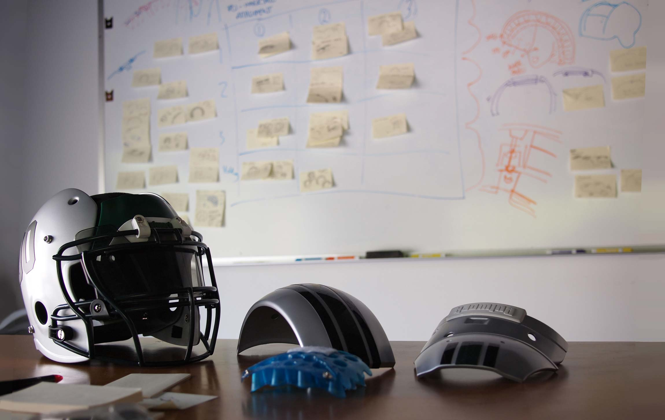The Evolving Football Helmet
