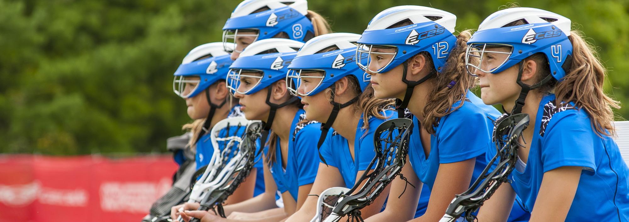 Cascade LX – Women's Lacrosse Headgear
